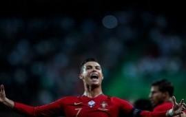 11/10/2019: La tremenda definición por arriba del arquero de Cristiano Ronaldo para quebrar una nueva marca en su carrera