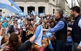 12/10/2019: Mauricio Macri dijo en Olavarría que a las marchas del