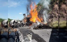 14/10/2019: CJNG emboscó a policías estatales en Michoacán: por lo menos hay 14 muertos