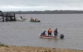 16/10/2019: Encontraron el cuerpo del adolescente que se había tirado desde un muelle sobre el río Uruguay
