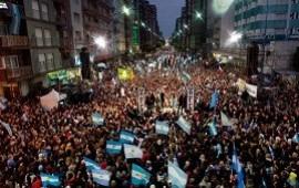 """23/10/2019: Macri, en Mar del Plata: """"Quieren que los que pensamos distinto nos callemos"""""""