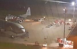 25/10/2019: Denuncian que un avión militar venezolano aterrizó en el aeropuerto más importante de Bolivia