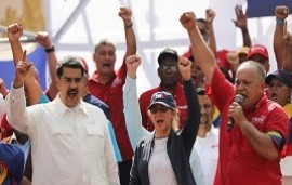 """28/10/2019: Diosdado Cabello celebró el triunfo de Alberto Fernández: """"La brisa de Perón y Néstor Kirchner se siente en Argentina"""""""