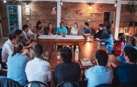 31/10/2019: El intendente electo de Federación presentó el gabinete que lo acompañará en su gestión
