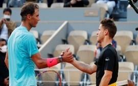 """09/10/2020: Rafael Nadal se deshizo en elogios para Diego Schwartzman tras vencerlo en Roland Garros: """"Está a un nivel altísimo, cada vez mejor"""""""