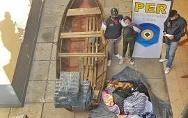 15/10/2020: La División de Investigaciones secuestró más de 80 bultos de mercadería en un barrio de Concordia