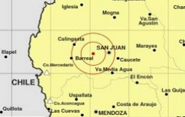15/10/2020: Tres temblores, uno de 5.1 grados, azotaron la provincia de San Juan