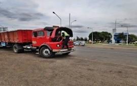 20/10/2020: Secuestran un camión con documentación apócrifa que circulaba por ruta 14
