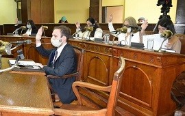 """22/10/2020: Concejales de Juntos por el Cambio reclaman """"estadísticas certeras"""" en relación al COVID"""
