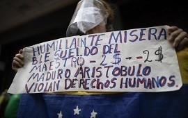 """22/10/2020: El grito desesperado de una maestra en Venezuela: """"No es posible que todas las mañanas me levante y no tenga qué darle a mis hijos"""""""