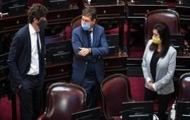"""29/10/2020: Otro fuerte cruce entre Cristina Kirchner, Martín Lousteau y Luis Naidenoff: """"¡Qué ganas de complicar las cosas!"""