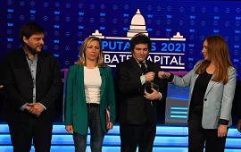 14/10/2021: Tenso debate entre los candidatos a diputados de la Ciudad de Buenos Aires