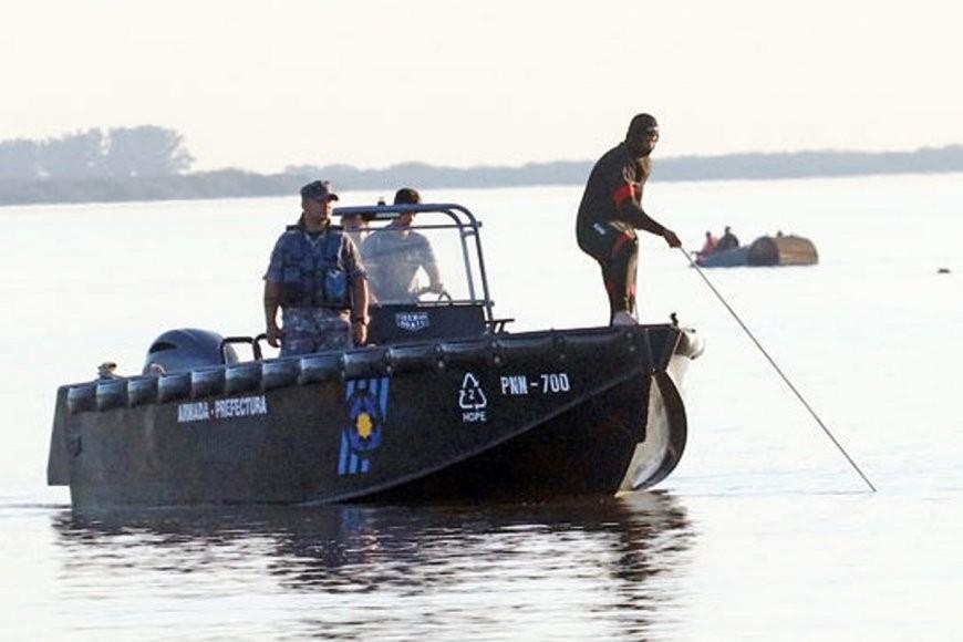 21/10/2021: Dieron con el cuerpo de la persona que se había sumergido en aguas del río Uruguay