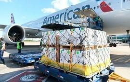 06/10/2021: Pfizer: llegó al país un cargamento con más de 800 mil dosis