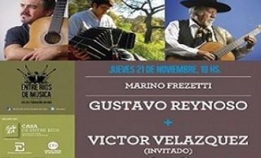 Victor Velázquez se presentará en el ciclo Entre Ríos de Música