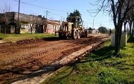 Tiene un 90 por ciento de avance la obra integral de saneamiento en barrio San Martín de Concordia