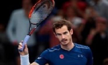 Murray avanzó a la final del Masters de París y es el nuevo número uno del mundo