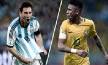 Con el regreso de Messi, Argentina va por un triunfo ante Brasil para encauzar la clasificación a Rusia