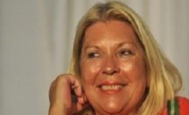Carrió será candidata en 2017 aunque no reveló para qué cargo ni en qué distrito