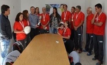 Brindaron un reconocimiento a los campeones de newcom en los Juegos Evita