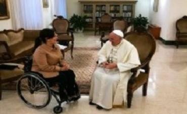 El Papa le dijo a Michetti que es