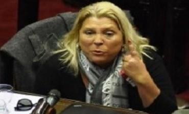 Carrió denunció penalmente a tres funcionarios del ministerio de Energía