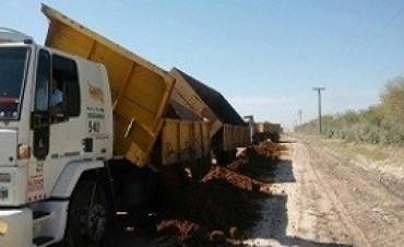 Consolidan los caminos productivos del departamento Uruguay