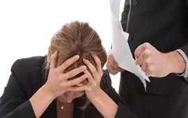 01/11/2017: Crecieron las denuncias por acoso laboral