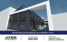 01/11/2017: Se llamó a licitación la ampliación y refacción de la sede de ATER