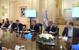 09/11/2017: Bordet valoró en forma positiva el encuentro de Macri con los gobernadores