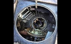 23/11/2017: Difunden las últimas fotos del interior del submarino ARA San Juan
