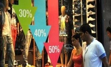 06/11/2017: Las ventas de los comercios minoristas crecieron en octubre 1,6 por ciento anual