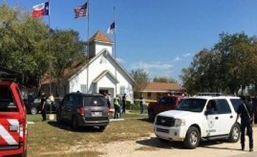 06/11/2017: Al menos 27 muertos por un tiroteo en una iglesia de Texas