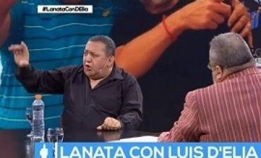"""06/11/2017: D'Elía con Lanata: De """"San Martín fue acusado de corrupción"""" a """"Seré Mandela"""""""