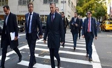 07/11/2017: Macri ante CEOs en Nueva York: