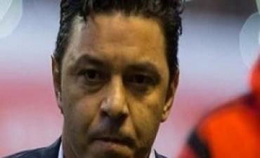 10/11/2017: Gallardo dijo que quiere seguir siendo el entrenador de River