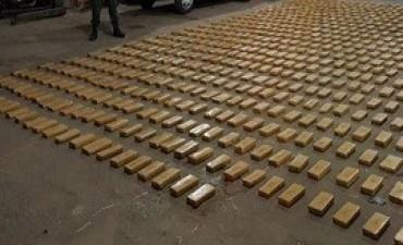 13/11/2017: Corrientes: secuestran casi 700 kilos de marihuana