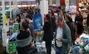 16/11/2017: Las ventas en los supermercados crecieron en septiembre 1,5% interanual