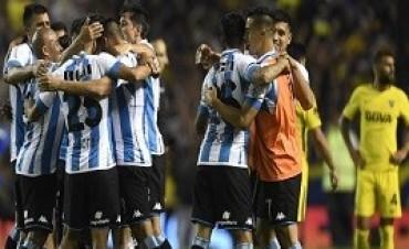 20/11/2017; La caída de Boca les dio vida a Racing y a la Superliga