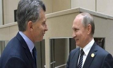 22/11/2017: Putin ofreció a Macri la colaboración de Rusia en el operativo de búsqueda