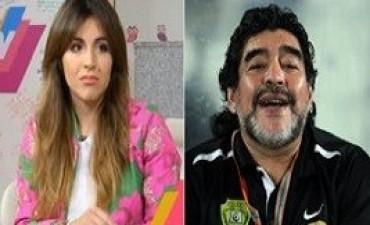 22/11/2017: La irónica respuesta de Gianinna a Diego Maradona por el robo de 80 millones de pesos