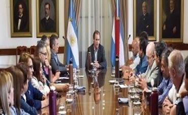 28/11/2017: Bordet expuso ante diputados y senadores justicialistas el consenso fiscal acordado con Nación