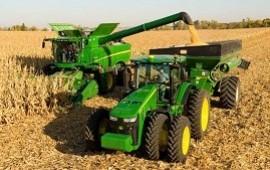 01/11/2018: Producción de maquinaria agrícola cayó casi 16% y las ventas 20%