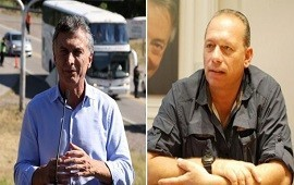 02/11/2018: Sergio Berni enfurecido con Mauricio Macri: