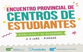 06/11/2018: Más de 600 chicos participarán de un encuentro provincial de centros de estudiantes