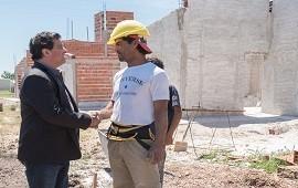 08/11/2018: En Aranguren se construyen viviendas financiadas por la provincia de Entre Rios
