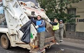 15/11/2018: Adelantan cómo funcionará el servicio de recolección de residuos durante el feriado del lunes