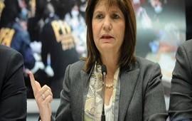 15/11/2018: Patricia Bullrich aseguró que los atentados en la casa de Bonadio y en Recoleta