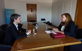 15/11/2018: Se gestionó el financiamiento de obras viales en Entre Ríos