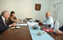 23/11/2018: La ministra de Salud se reunió con legisladores de Concordia y La Paz